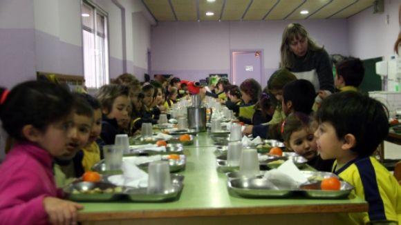 Sant Cugat ha concedit 945 de les 1.120 beques menjador sol·licitades des de l'inici de curs