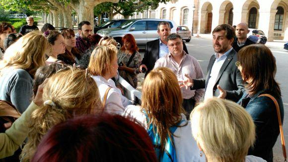 Els treballadors de l'HGC es concentraran a la Festa de Tardor i preveuen més mobilitzacions