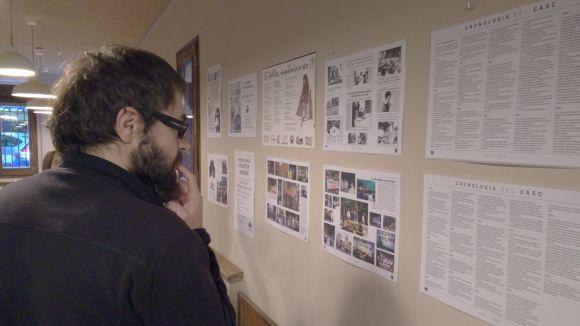El CASC repassa les accions i fites assolides en 21 anys d'història amb una mostra a Cal Temerari