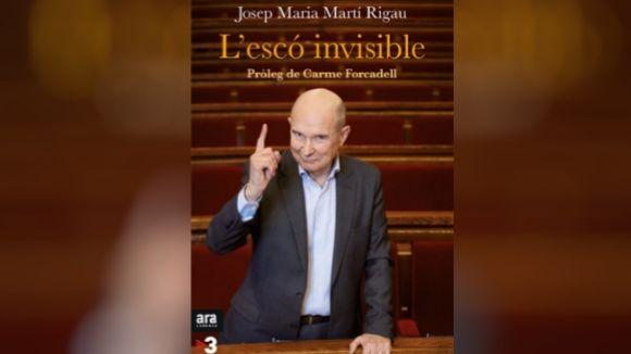 Josep Maria Martí Rigau posa al descobert les interioritats del Parlament amb 'L'escó invisible'