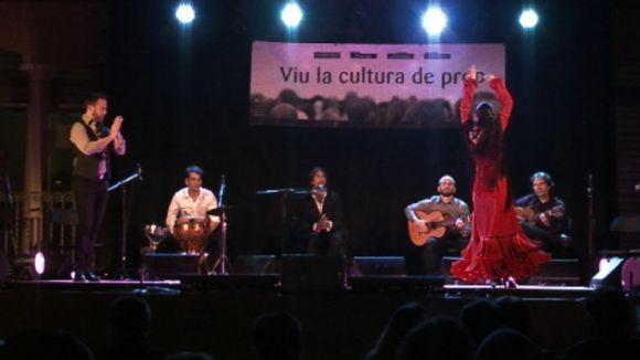 El Casino la Floresta descobreix el flamenc a la fresca