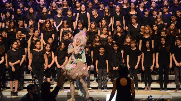 Alumnes de Sant Cugat omplen el Teatre-Auditori amb la Cantània 2016
