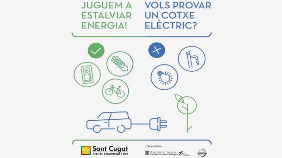 El Centre Comercial ofereix als santcugatencs provar un cotxe elèctric
