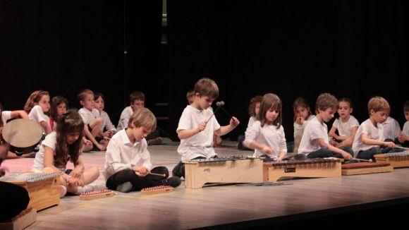 Els alumnes de l'EMV demostren les seves aptituds en el concert de final de curs