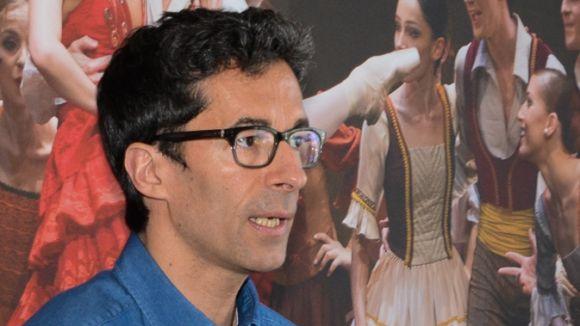 El director de la Companyia Nacional de Dansa, José Carlos Martínez, al 'Molta Comèdia'