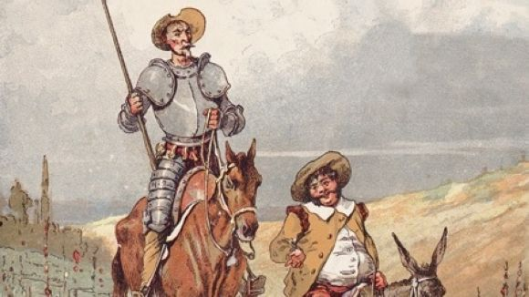 Don Quixot i Sancho Panza / Foto: Commons - Jules David