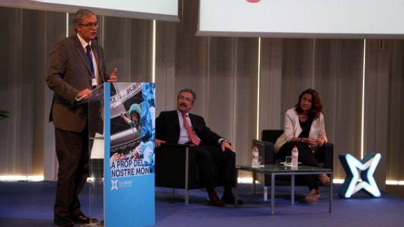 Francesc Pena, Kim Faura i Mercè Conesa / Foto: ACN