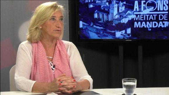 Susanna Pellicer, alcaldessa accidental fins dijous