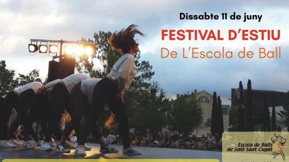L'Escola de Balls de Saló convida tothom al Festival d'Estiu d'aquest dissabte per mostrar la feina feta