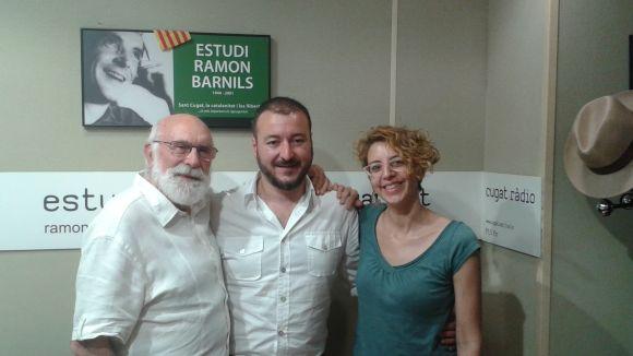 L'autor i director teatral Josep Maria Miró visita el 'Molta Comèdia'