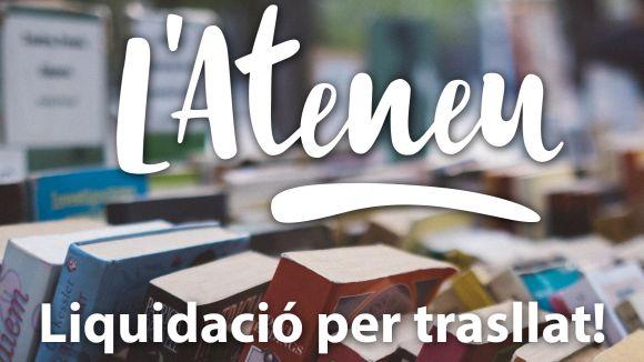L'Ateneu engega una campanya de liquidació dels llibres i DVD de la 'llibreteca'