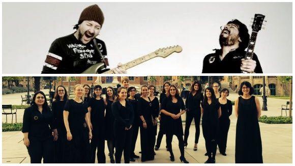 Saltors i Elisenda Carrasco, participació santcugatenca al festival Musiquem Lleida