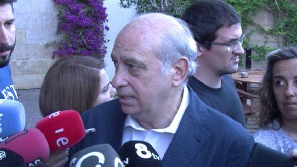 Fernández Díaz considera 'una falta de respecte' que se'l vinculi a una conspiració contra ERC i CDC