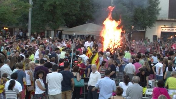 Les festes de la revetlla prenen Sant Cugat, Valldoreix i la Floresta