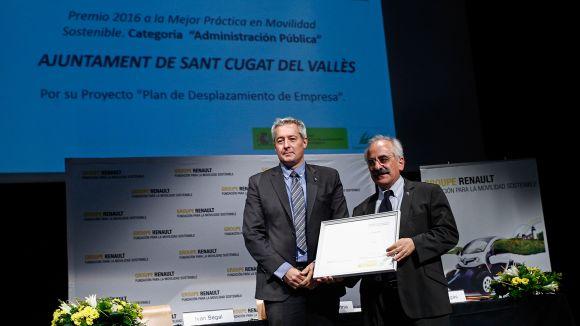 La Fundació Renault distingeix Sant Cugat amb el Premi a la Millor Pràctica Sostenible