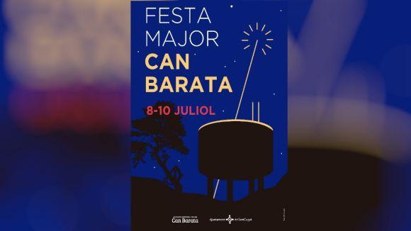 Cartell de la Festa Major de Can Barata