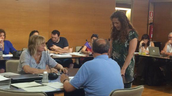 La regidora de C's Munia Fernández-Jordán, nova membre del Consell Comarcal