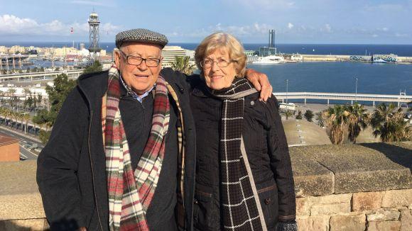 Pere Xercavins amb la seva dona / Foto: Cedida