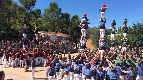 Els Gausacs porten a la trobada castellera de Valldoreix el 4 de 8