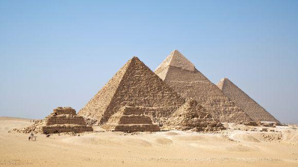 Les piràmides del Caire / Foto: All Gizah Pyramids - CC