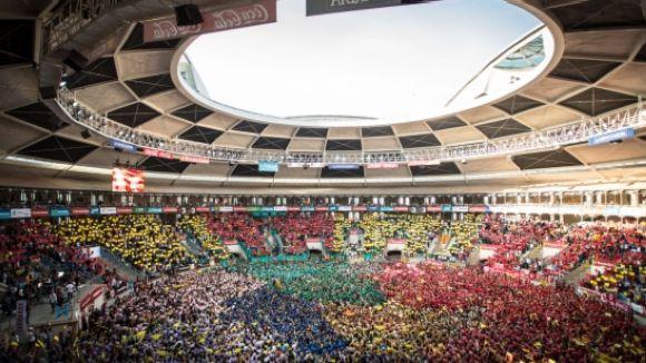 Esgotades les entrades per la jornada de diumenge del Concurs de Castells de Tarragona