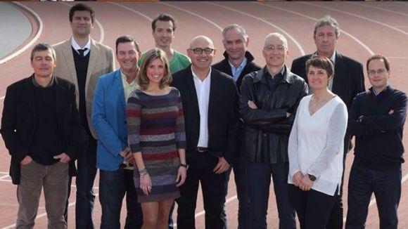 L'equip de la candidatura de Manel González