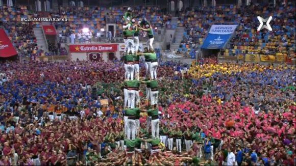 Els Gausacs, quarts al Concurs de Castells de Tarragona en la seva millor actuació