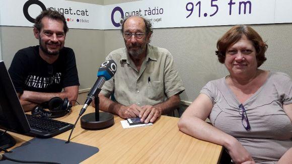 Gabriel Castañé, Jaume Espina i Eulàlia Castañé