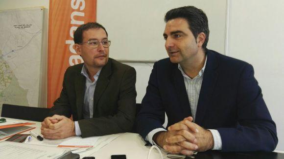 Sergio Blázquez i Aldo Ciprián han presentat les propostes