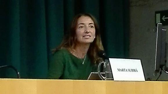 Marta Subirà (secretària de Sostenibilitat): 'Les accions contra el canvi climàtic comporten estalvi econòmic'