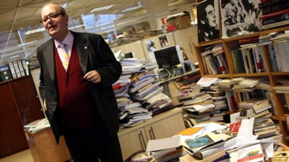 Pere Gimferrer, protagonista de la jornada del Festival Nacional de Poesia