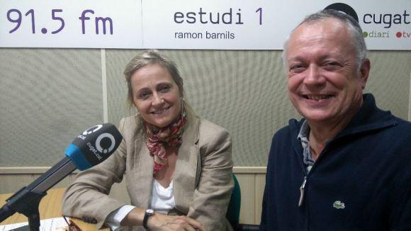 Consol Vancells i Josep Amorós