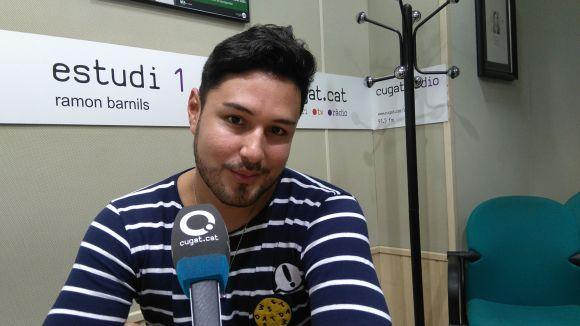 El director executiu de Yeyehelp, Carlos Manuel Guamán