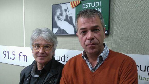 D'esquerra a dreta, Jaume Ibars i Ricardo Olivares