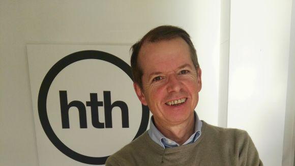 El director general de Home to Home, Garry Costello, que trasllada la seva seu a Sant Cugat