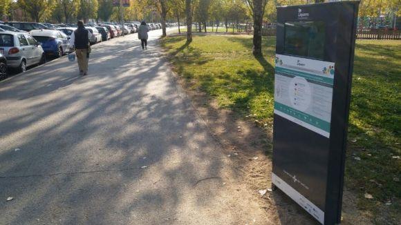 L'Ajuntament instal·la un panell per mesurar la qualitat ambiental a Francesc Macià