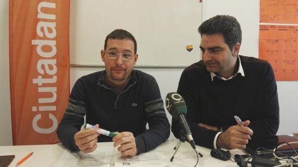 Sergio Blázquez i Aldo Ciprián han presentat la moció