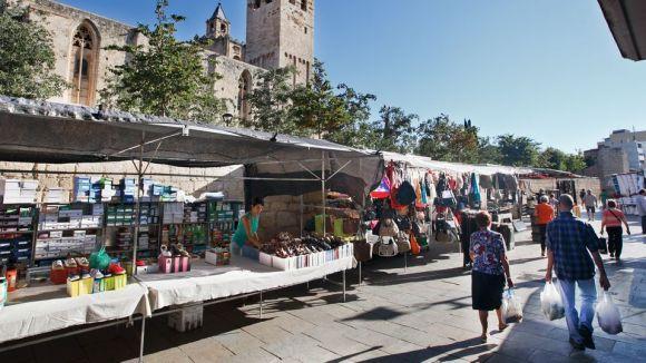 Els paradistes del mercat setmanal de Sant Cugat, protagonistes al 'Connectats a l'estiu'