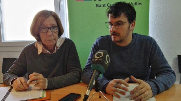 ICV-EUiA retreu a l'equip de govern 'manca de lideratge' davant la problemàtica de l'habitatge