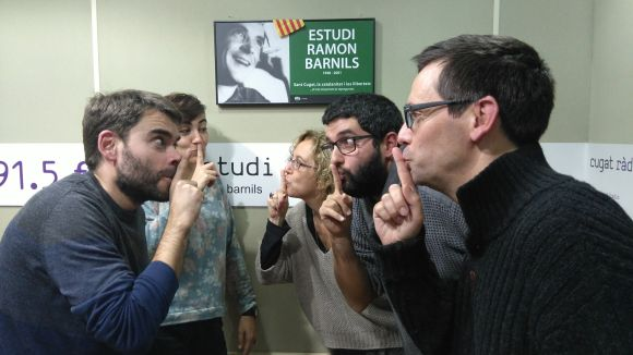 L'equip de Daniel Ruiz-Trillo demana silenci!