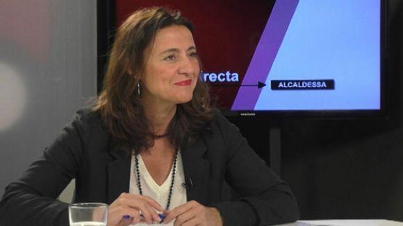 Entrevista a l'alcaldessa, Mercè Conesa