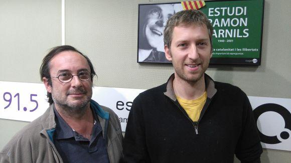 D'esquerra a dreta, Francesc Codonyés i Tomaso Piermarini