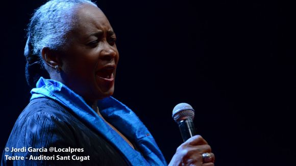 Barbara Hendricks alça la veu al Teatre-Auditori contra la segregació racial dels Estats Units