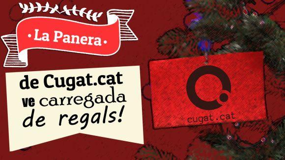 Cugat.cat sorteja una panera de Nadal valorada en 750 euros