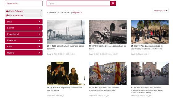 Sant Cugat aporta imatges d'arxiu al nou portal 'Imagina'