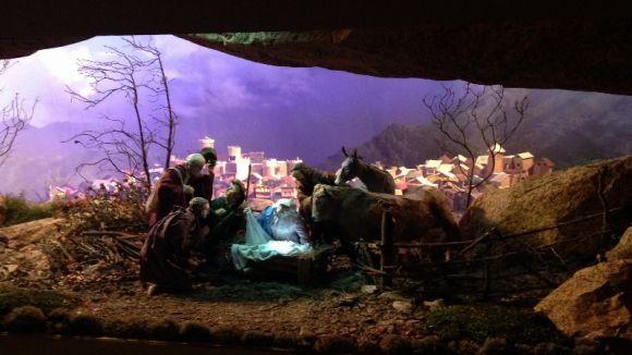La Casa Abacial acull l'exposició de pessebres i figures