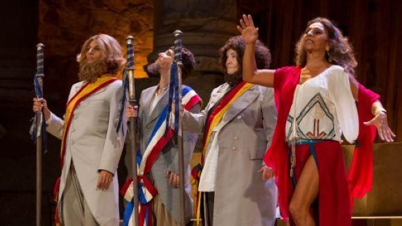 Exhaurides les entrades per a 'La asamblea de las mujeres' al Teatre-Auditori