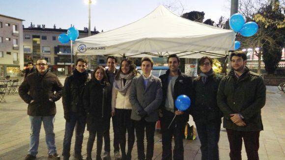 Noves Generacions engega l'any amb l'objectiu de 'reconnectar' el PP amb la ciutadania