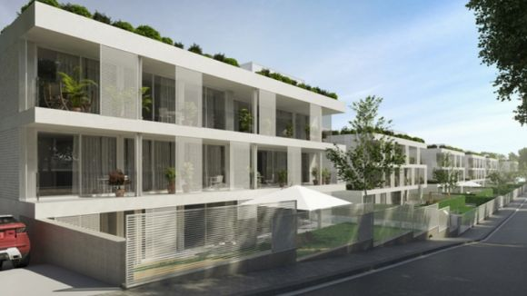 Infografia del projecte Residencial Can Trabal Sant Cugat / Foto: Web Inbisa