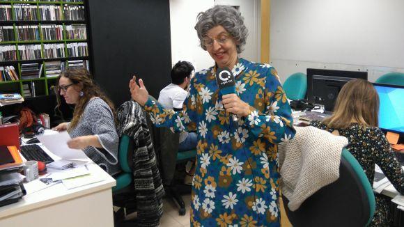 Isabel Castro tanca la setmana amb humor